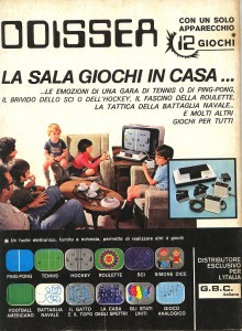 Quarta di copertina del numero di gennaio 1976 di Sperimentare.