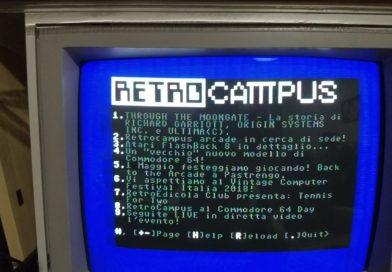 Il sito RetroCampus da oggi navigabile anche dal Commodore 64!